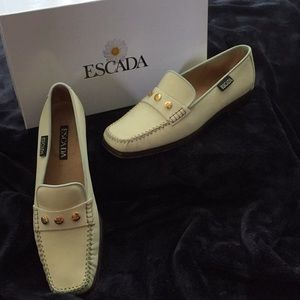 Escada loafers